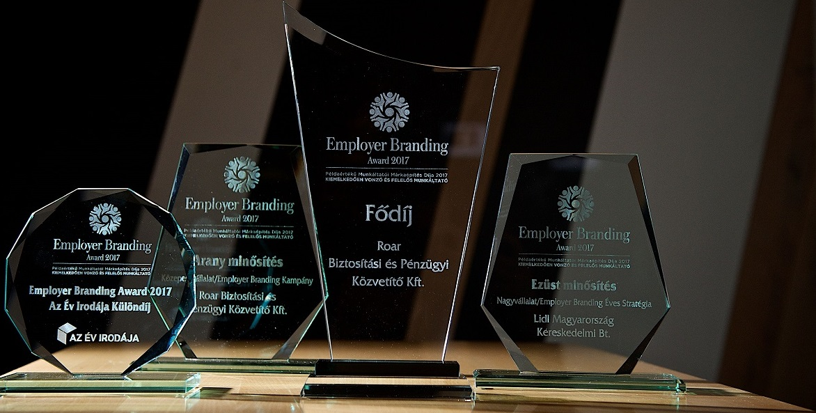 Employer Branding Award 2018 – Példaértékű Munkáltatói Márkaépítés Díja