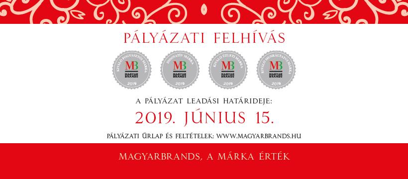 MagyarBrands 2019 Pályázat