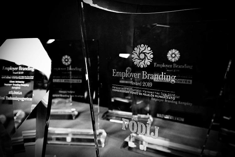 Díjazták a legütősebb hazai munkáltatói márkákat – Employer Branding Award 2019
