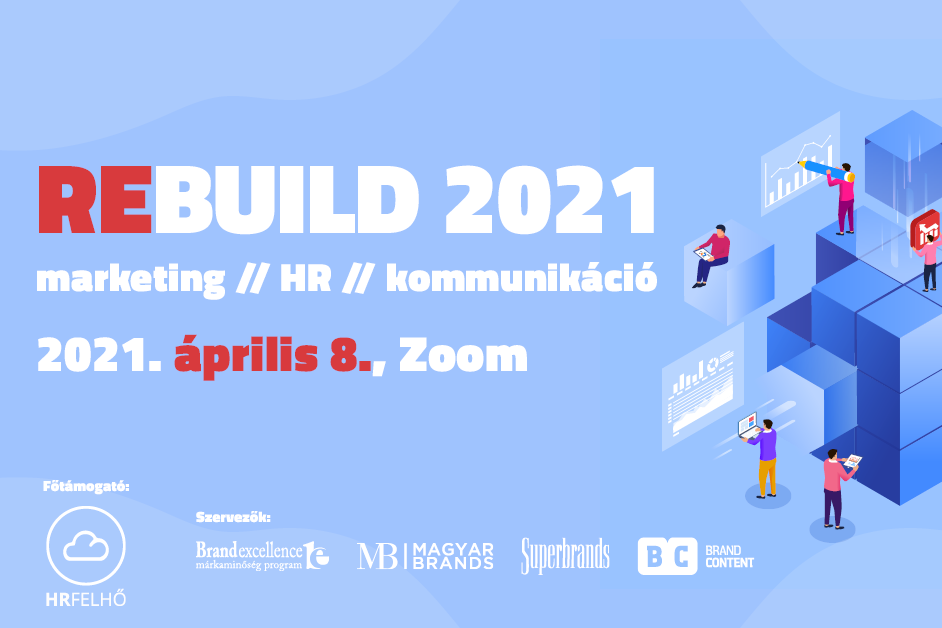 REbuild 2021 – marketing // HR // kommunikáció