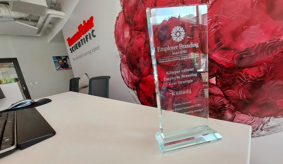 Munkahelyként kapott dupla elismerést a Thermo Fisher Scientific  budapesti irodája
